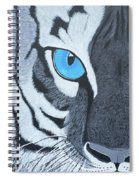 The Eye Of The Tiger Spiral Notebook