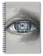 The Eyes Gate Spiral Notebook
