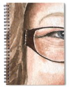 The Eyes Have It - Emma Spiral Notebook