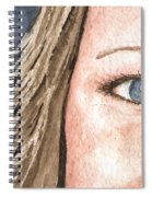 The Eyes Have It - Jill Spiral Notebook