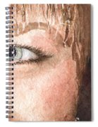 The Eyes Have It - Shelly Spiral Notebook