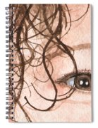 The Eyes Have It - Stacia Spiral Notebook