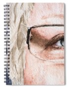 The Eyes Have It - Vickie Spiral Notebook