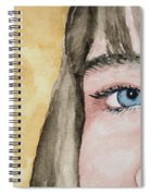 The Eyes Have It - Bryanna Spiral Notebook