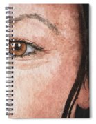 The Eyes Have It- Jessica Spiral Notebook