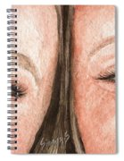The Eyes Have It- K And K Spiral Notebook