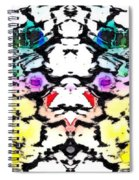 The Face Emerging Spiral Notebook