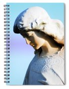 The Face Of An Angel Spiral Notebook