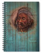 The Face Of Wisdom Spiral Notebook