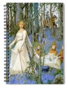The Fairy Wood Spiral Notebook