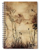 The Fairy's Tightrope From Peter Pan In Kensington Gardens Spiral Notebook