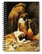 The Faith Of Saint Bernard Spiral Notebook