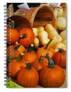The Fall Harvest Is In Kendall Square Farmers Market Spiral Notebook