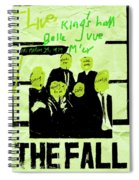 The Fall - Live 1979 Spiral Notebook