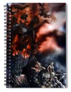 The Fall Of Azturath Spiral Notebook