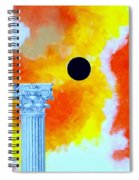 The Fall Of Rome Spiral Notebook