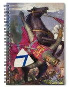 The Fall Of William The Conqueror Spiral Notebook
