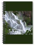 The Falls Of Fall Creek Spiral Notebook