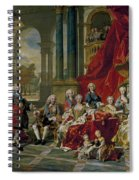 The Family Of Philip V Spiral Notebook