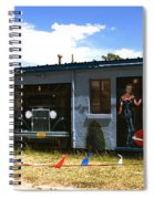 The Famous Murals On Route 66 Spiral Notebook