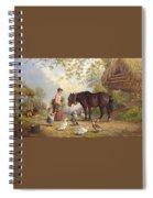 The Farm Spiral Notebook
