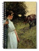 The Farmer's Daughter Spiral Notebook