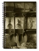 The Farmer's Toolshed Spiral Notebook