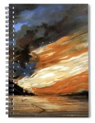 The Fate Of The Rebel Flag Spiral Notebook