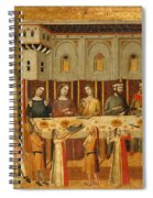 The Feast Of Herod And The Beheading Of The Baptist Spiral Notebook