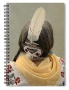 Pow Wow The Feather Spiral Notebook