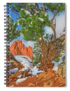 The Ferruginous Earth Of The Rocky Mountain West Spiral Notebook