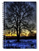 The Field Tree Hdr Spiral Notebook