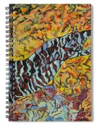 The Fierce Eel Spiral Notebook
