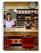 The Fifties Diner Spiral Notebook
