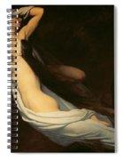 The Figures Of Francesca Da Rimini And Paolo Da Verrucchio Appear To Dante And Virgil Spiral Notebook