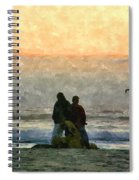 The Final Sunset Spiral Notebook