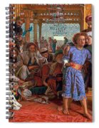The Finding Of The Savior In The Temple Spiral Notebook