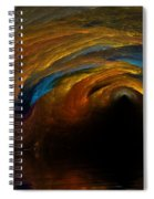 The Fire Caves Of Riagle Spiral Notebook