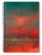 The Fire Clouds Spiral Notebook