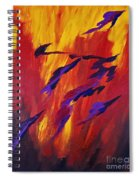 The Fire Of Life Spiral Notebook