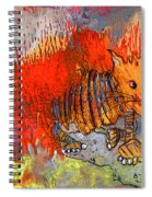 The Firecat Spiral Notebook