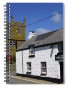 The First And Last Inn In England Spiral Notebook