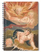 The First Book Of Urizen, Plate 22 Spiral Notebook