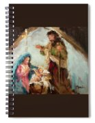 The First Christmas Spiral Notebook