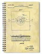 The First Computer Chip Patent Spiral Notebook