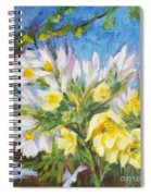 The First Flowers After Winter Spiral Notebook