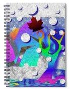 The First Snow Spiral Notebook