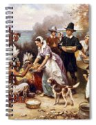 The First Thanksgiving Spiral Notebook
