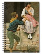 The Fishermans Wooing From The Pears Annual Christmas Spiral Notebook