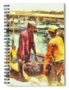 The Fishermen Spiral Notebook